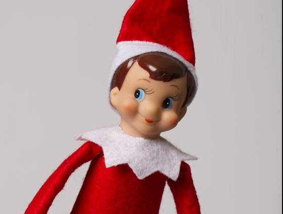 Stupid Elf on a Shelf