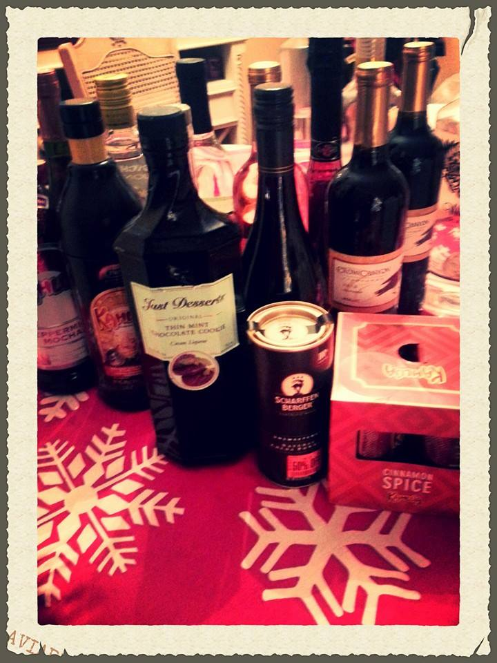Cookie Exchange Booze